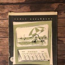 Coleccionismo de Revista Temas Españoles: REVISTA TEMAS ESPAÑOLES, NUMERO 291, ALICANTE, (PUBLICACIONES ESPAÑOLAS). Lote 242927145