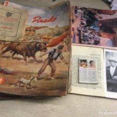 """Coleccionismo de Revista Temas Españoles: LOTE DE REVISTAS """" EL RUEDO """" AÑOS 1947 / 1948 ( FOTOS DE TODAS LAS REVISTAS ). Lote 245936450"""