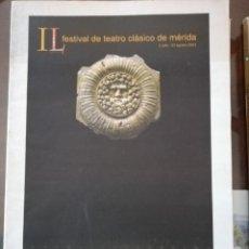 Coleccionismo de Revista Temas Españoles: IL FESTIVAL DE TEATRO CLASICO DE MERIDA. Lote 248748360