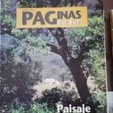 Coleccionismo de Revista Temas Españoles: PAGINAS DEL SUR NUM. 4 ABRIL DE 1997 (GUIA PARQUES NATURALES ANDALUCIA). Lote 248748780