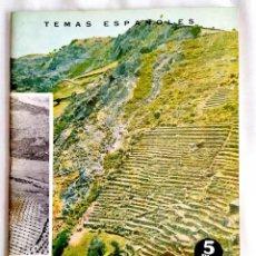 Coleccionismo de Revista Temas Españoles: 1964 - DEFENSA DEL SUELO - TEMAS ESPAÑOLES NÚM. 450. Lote 251686020