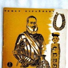 Coleccionismo de Revista Temas Españoles: 1956 - PEDRO DE VALDIVIA - TEMAS ESPAÑOLES NÚM. 43. Lote 251688595