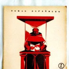 Coleccionismo de Revista Temas Españoles: 1955 - FRAY LUS DE LEÓN - TEMAS ESPAÑOLES NÚM. 193. Lote 251688795