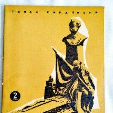 Coleccionismo de Revista Temas Españoles: 1958 - FEDERICO CHUECA - TEMAS ESPAÑOLES NÚM. 374. Lote 251689195