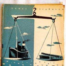 Coleccionismo de Revista Temas Españoles: 1955 - CONSULADO DEL MAR - TEMAS ESPAÑOLES NÚM. 188. Lote 251690225