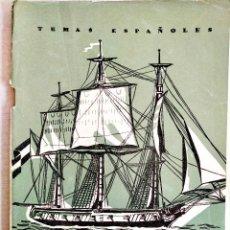 Coleccionismo de Revista Temas Españoles: 1959 - JORGE JUAN - TEMAS ESPAÑOLES NÚM. 151. Lote 251692035
