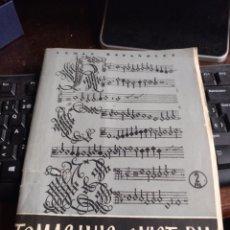 Coleccionismo de Revista Temas Españoles: TEMAS ESPAÑOLES TOMÁS LUIS DE VICTORIA. 1956, NUM. 274. Lote 253681295