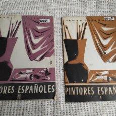Coleccionismo de Revista Temas Españoles: TEMAS ESPAÑOLES Nº 109 , 168 PINTORES ESPAÑOLES I Y II. Lote 254450620