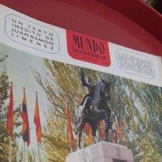 Coleccionismo de Revista Temas Españoles: REVISTA MUNDO HISPÁNICO. NUM: 273 , 1970 .. Lote 254918460