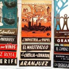 Coleccionismo de Revista Temas Españoles: LOTE DE 14 EJEMPLARES DE TEMAS ESPAÑOLES. Lote 255556350
