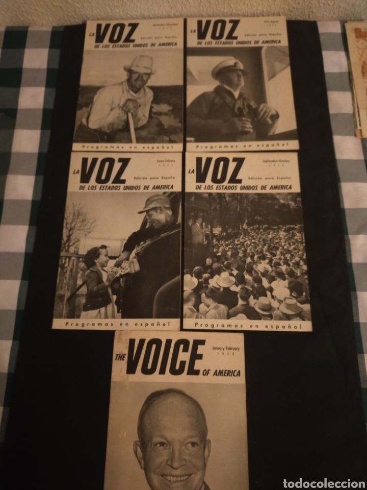 LOTE DE 5 REVISTA LA VOZ (Papel - Revistas y Periódicos Modernos (a partir de 1.940) - Revista Temas Españoles)