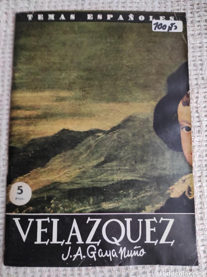 TEMAS ESPAÑOLES Nº 418 VELAZQUEZ -EDITADO : AÑOS 60 (Papel - Revistas y Periódicos Modernos (a partir de 1.940) - Revista Temas Españoles)