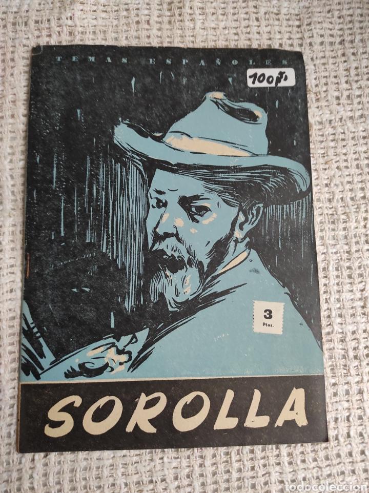 TEMAS ESPAÑOLES Nº 380 SOROLLA -EDITADO : AÑOS 60 (Papel - Revistas y Periódicos Modernos (a partir de 1.940) - Revista Temas Españoles)