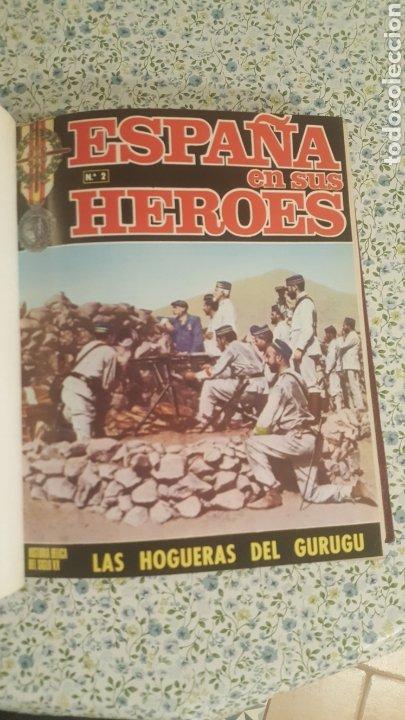 Coleccionismo de Revista Temas Españoles: ESPAÑA EN SUS HÉROES - HISTORIA BÉLICA DEL SIGLO XX - MARRUECOS - 1 TOMO - ORNIGRAF, 1969 - Foto 2 - 257657540