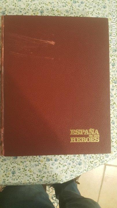 Coleccionismo de Revista Temas Españoles: ESPAÑA EN SUS HÉROES - HISTORIA BÉLICA DEL SIGLO XX - MARRUECOS - 1 TOMO - ORNIGRAF, 1969 - Foto 4 - 257657540