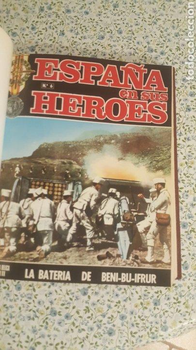 Coleccionismo de Revista Temas Españoles: ESPAÑA EN SUS HÉROES - HISTORIA BÉLICA DEL SIGLO XX - MARRUECOS - 1 TOMO - ORNIGRAF, 1969 - Foto 7 - 257657540