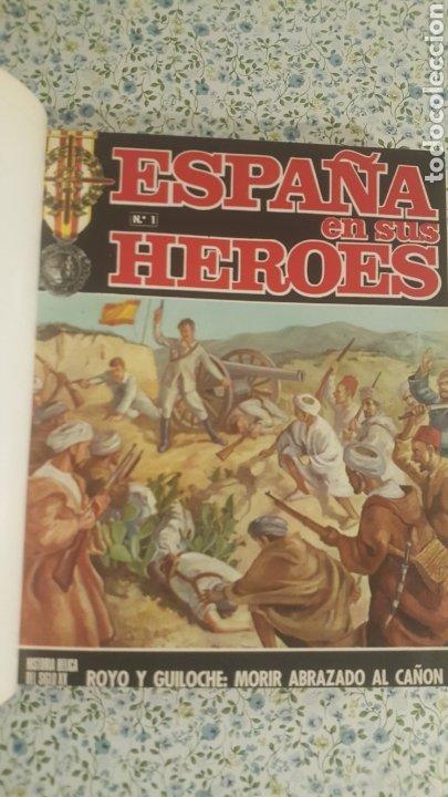 ESPAÑA EN SUS HÉROES - HISTORIA BÉLICA DEL SIGLO XX - MARRUECOS - 1 TOMO - ORNIGRAF, 1969 (Papel - Revistas y Periódicos Modernos (a partir de 1.940) - Revista Temas Españoles)