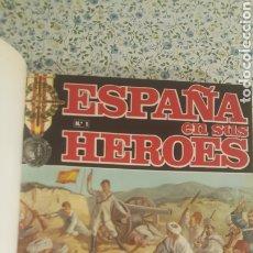 Coleccionismo de Revista Temas Españoles: ESPAÑA EN SUS HÉROES - HISTORIA BÉLICA DEL SIGLO XX - MARRUECOS - 1 TOMO - ORNIGRAF, 1969. Lote 257657540