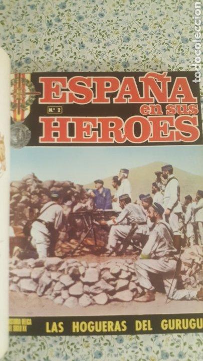 Coleccionismo de Revista Temas Españoles: ESPAÑA EN SUS HÉROES - HISTORIA BÉLICA DEL SIGLO XX - MARRUECOS - 1 TOMO - ORNIGRAF, 1969 - Foto 6 - 257657540