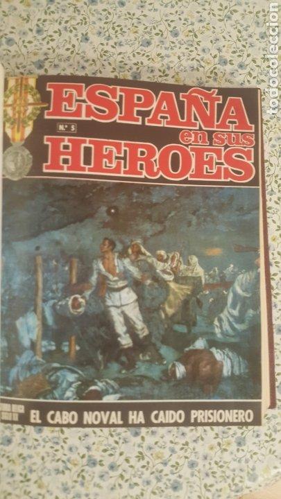 Coleccionismo de Revista Temas Españoles: ESPAÑA EN SUS HÉROES - HISTORIA BÉLICA DEL SIGLO XX - MARRUECOS - 1 TOMO - ORNIGRAF, 1969 - Foto 8 - 257657540