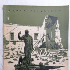 Coleccionismo de Revista Temas Españoles: REVISTA TEMAS ESPAÑOLES, Nº 38, 2ª EDICION, EL ALCAZAR NO SE RINDE, AÑO 1956. Lote 261626305