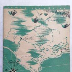 Coleccionismo de Revista Temas Españoles: REVISTA TEMAS ESPAÑOLES, Nº 38, 2ª EDICION, EL ALCAZAR NO SE RINDE, AÑO 1956. Lote 261626350