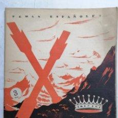 Coleccionismo de Revista Temas Españoles: REVISTA TEMAS ESPAÑOLES, Nº 37, VICTOR PRADERA, AÑO 1956. Lote 261651730