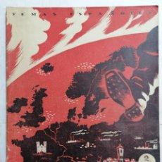 Coleccionismo de Revista Temas Españoles: REVISTA TEMAS ESPAÑOLES, Nº 7, CONQUISTA POR EL TERROR, AÑO 1952. Lote 261651940