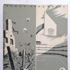 Coleccionismo de Revista Temas Españoles: REVISTA TEMAS ESPAÑOLES, Nº 21, EL GENERAL YAGUE, AÑO 1953. Lote 261652495