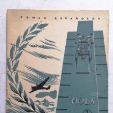 Coleccionismo de Revista Temas Españoles: REVISTA TEMAS ESPAÑOLES, Nº 32, EL GENERAL MOLA, AÑO 1956. Lote 261652535