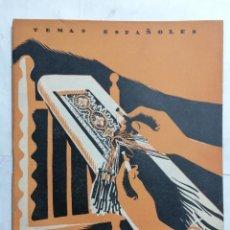 Coleccionismo de Revista Temas Españoles: REVISTA TEMAS ESPAÑOLES, Nº 30 BORDADOS Y ENCAJES, AÑO 1956. Lote 261652910