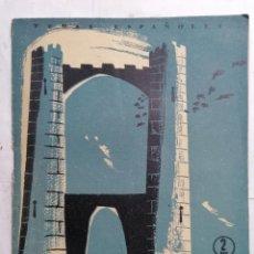 Coleccionismo de Revista Temas Españoles: REVISTA TEMAS ESPAÑOLES, Nº 143, CASTILLOS, AÑO 1955. Lote 261652925