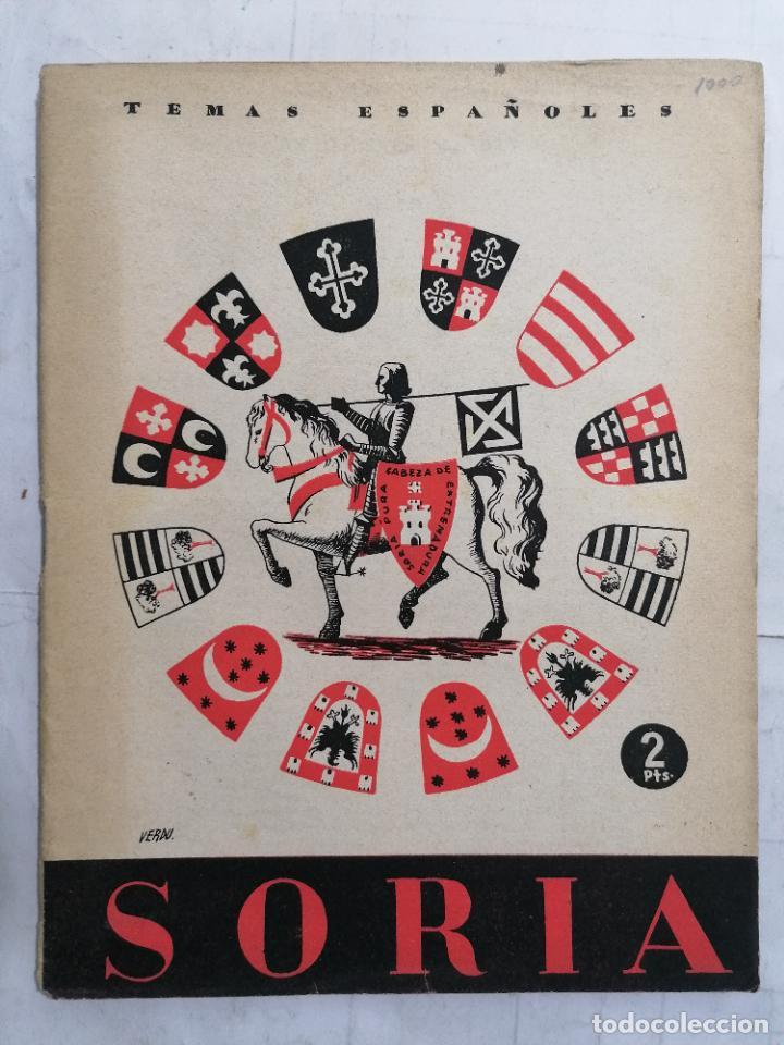 REVISTA TEMAS ESPAÑOLES, Nº 79, SORIA, AÑO 1954 (Papel - Revistas y Periódicos Modernos (a partir de 1.940) - Revista Temas Españoles)