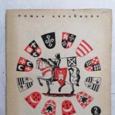 Coleccionismo de Revista Temas Españoles: REVISTA TEMAS ESPAÑOLES, Nº 79, SORIA, AÑO 1954. Lote 261652990