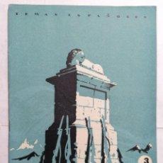 Coleccionismo de Revista Temas Españoles: REVISTA TEMAS ESPAÑOLES, Nº 9,LA GESTA DEL ALTO DE LOS LEONES, 2ª EDICION, AÑO 1959. Lote 261653080