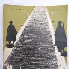 Coleccionismo de Revista Temas Españoles: REVISTA TEMAS ESPAÑOLES, Nº 159, LA GUARDIA CIVIL, AÑO 1955. Lote 261653130