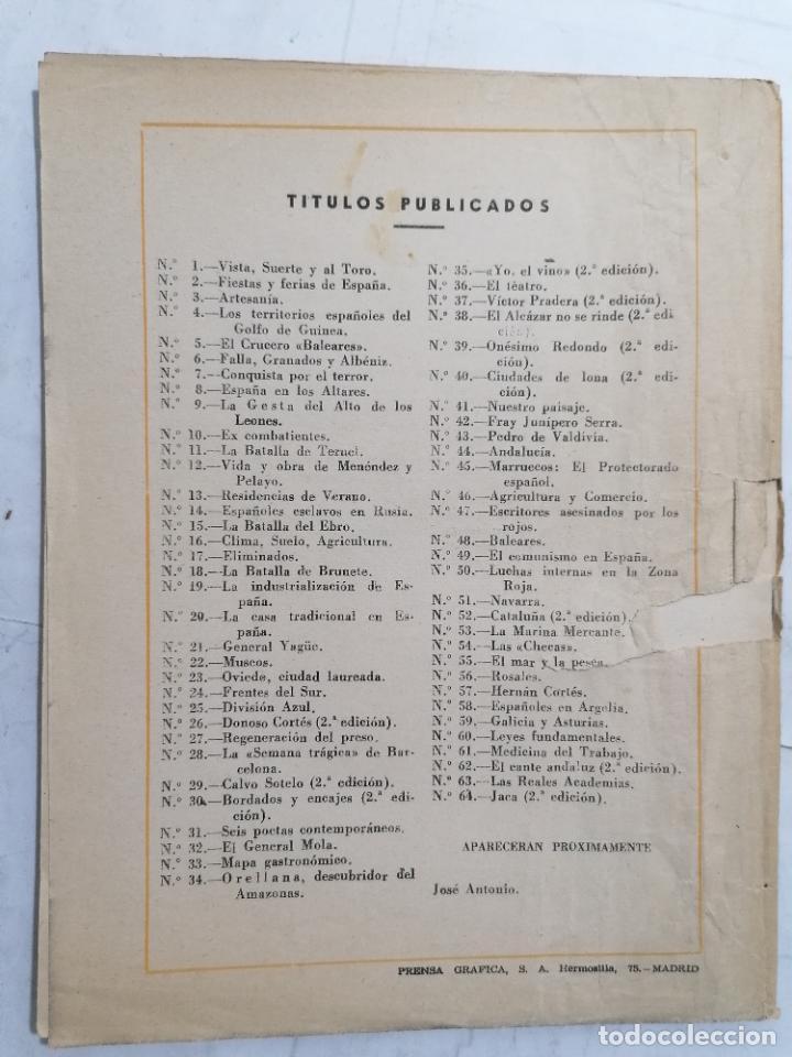 Coleccionismo de Revista Temas Españoles: REVISTA TEMAS ESPAÑOLES, Nº 64, JACA, 2ª EDICION, AÑO 1956 - Foto 3 - 261793975