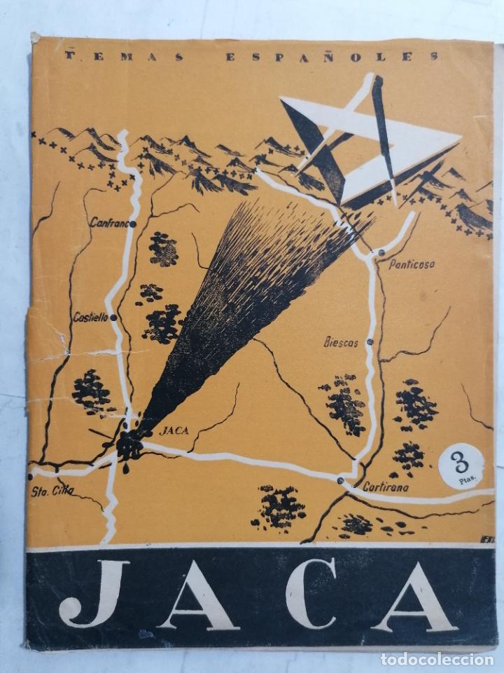 REVISTA TEMAS ESPAÑOLES, Nº 64, JACA, 2ª EDICION, AÑO 1956 (Papel - Revistas y Periódicos Modernos (a partir de 1.940) - Revista Temas Españoles)