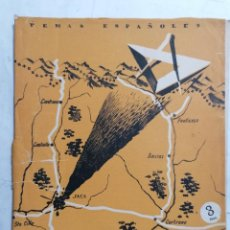 Coleccionismo de Revista Temas Españoles: REVISTA TEMAS ESPAÑOLES, Nº 64, JACA, 2ª EDICION, AÑO 1956. Lote 261793975