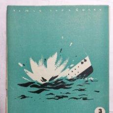 Coleccionismo de Revista Temas Españoles: REVISTA TEMAS ESPAÑOLES, Nº 5, EL CRUCERO BALEARES, 2ª EDICION, AÑO 1959. Lote 261794070