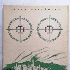 Coleccionismo de Revista Temas Españoles: REVISTA TEMAS ESPAÑOLES, Nº 77, EL GENERAL VARELA, AÑO 1954. Lote 261794415
