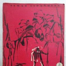 Coleccionismo de Revista Temas Españoles: REVISTA TEMAS ESPAÑOLES, Nº 85, HEROES ESPAÑOLES EN RUSIA, AÑO 1954. Lote 261794650