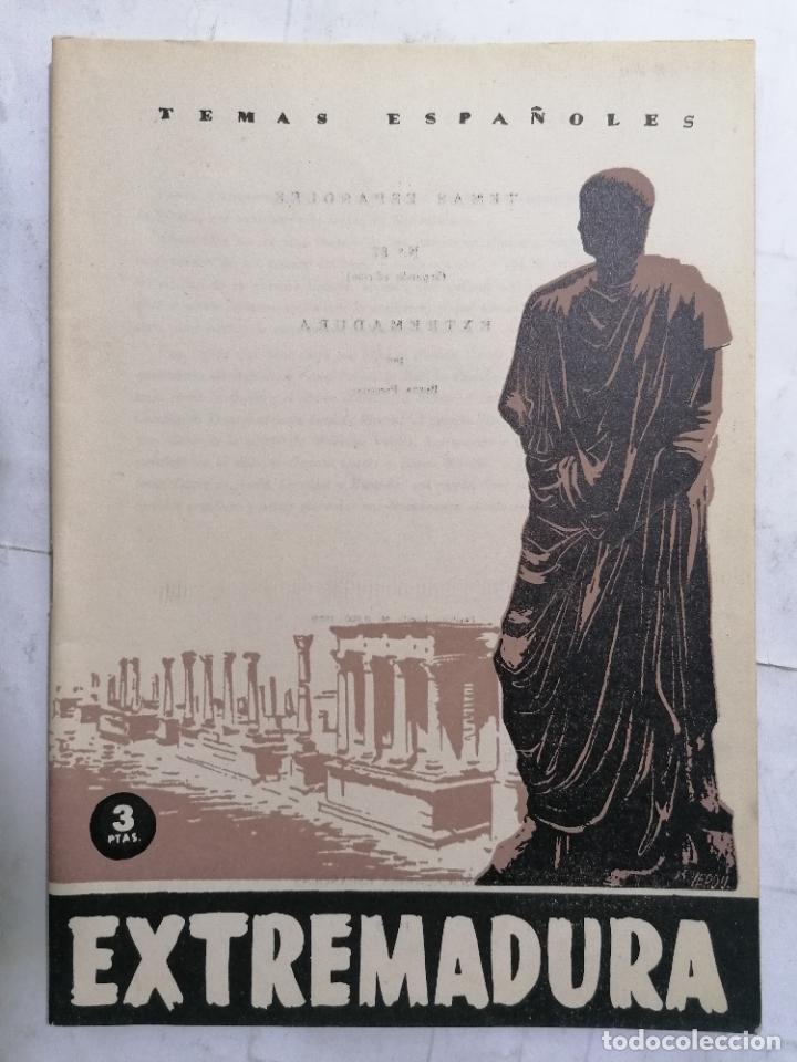 REVISTA TEMAS ESPAÑOLES, Nº 87, EXTREMADURA, 2ª EDICION, AÑO 1959 (Papel - Revistas y Periódicos Modernos (a partir de 1.940) - Revista Temas Españoles)