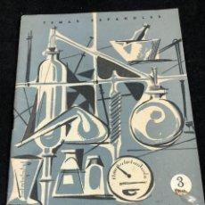 Coleccionismo de Revista Temas Españoles: TEMAS ESPAÑOLES. Nº 356. INDUSTRIA QUÍMICA Y FARMACÉUTICA. PUBLICACIONES ESPAÑOLAS 1958.. Lote 262240515