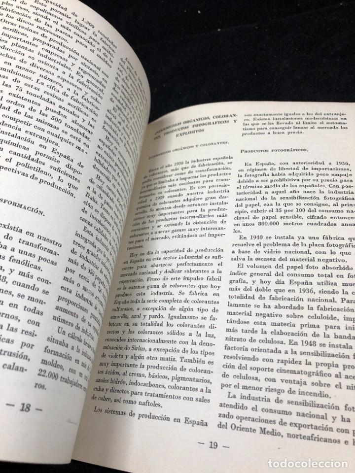 Coleccionismo de Revista Temas Españoles: TEMAS ESPAÑOLES. Nº 356. INDUSTRIA QUÍMICA Y FARMACÉUTICA. PUBLICACIONES ESPAÑOLAS 1958. - Foto 6 - 262240515