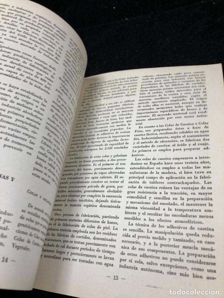 Coleccionismo de Revista Temas Españoles: TEMAS ESPAÑOLES. Nº 356. INDUSTRIA QUÍMICA Y FARMACÉUTICA. PUBLICACIONES ESPAÑOLAS 1958. - Foto 8 - 262240515