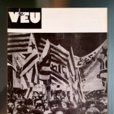 Coleccionismo de Revista Temas Españoles: LA VEU (MDT),REVISTA INDEPENDENTISTA OFICIAL DEL MDT ,1991. Lote 263209530