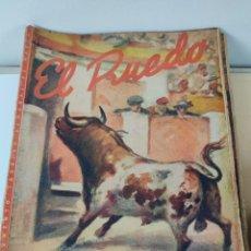 Coleccionismo de Revista Temas Españoles: LOTE DE 120 REVISTAS DE EL RUEDO ,AÑOS 40 AL 70. Lote 265539159