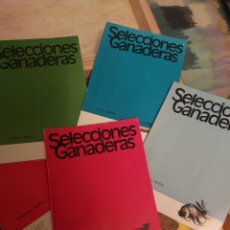 Coleccionismo de Revista Temas Españoles: SELECCIONES, AÑO 69/70 LOTE. Lote 268420599