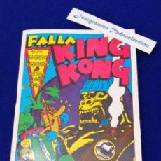 Collectionnisme de Magazine Temas Españoles: FALLA KING KONG 1978( JULIO TORMO - JUAN FUSTER - SANCHIS GUARNER COLABORADORES). Lote 269237453